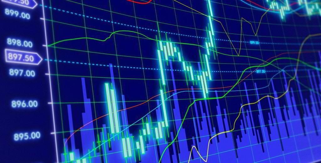 Wykres wskaźników giełdy kryptowalut