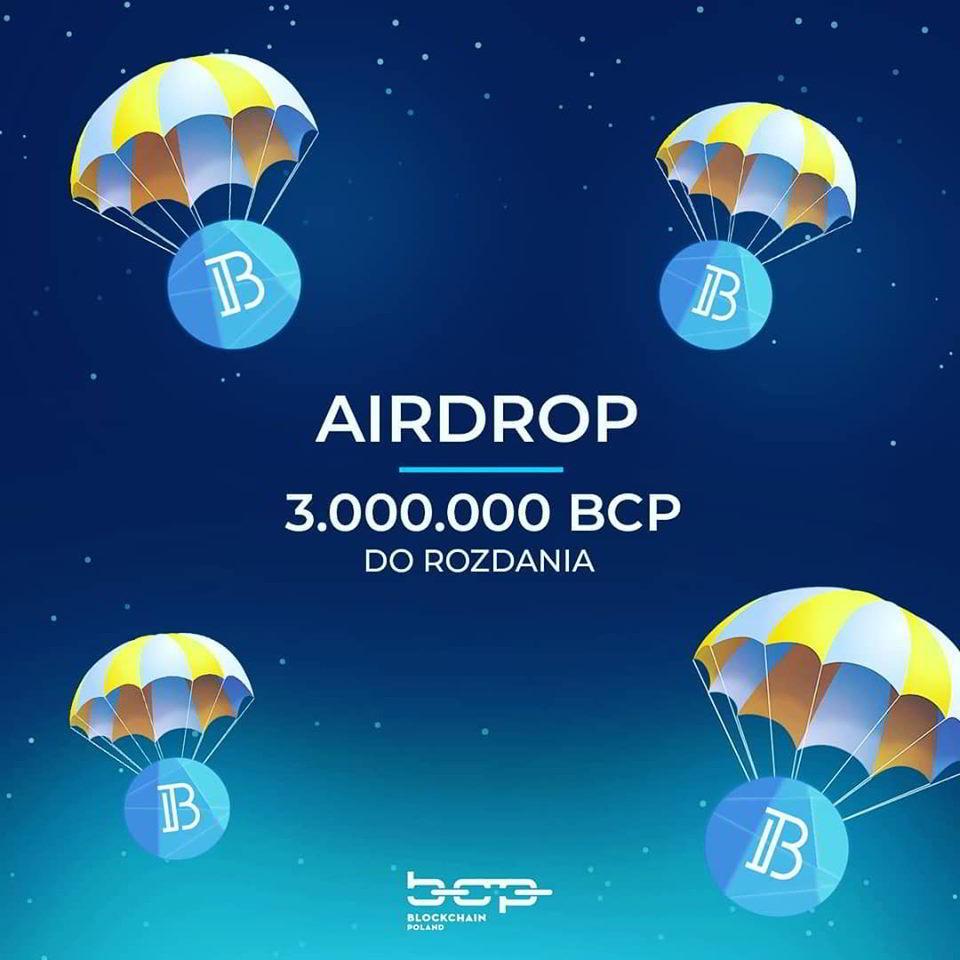 Airdrop BCP od Blockchain Poland