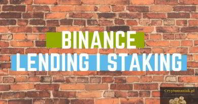 Binance lending i staking