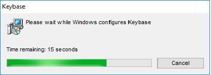 Keybase instalacja