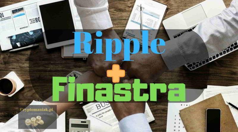 Finastra – trzecia co do wielkości firma FinTech, dołącza do RippleNet