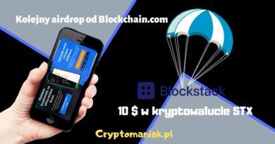 Airdrop STX od blockchain.com