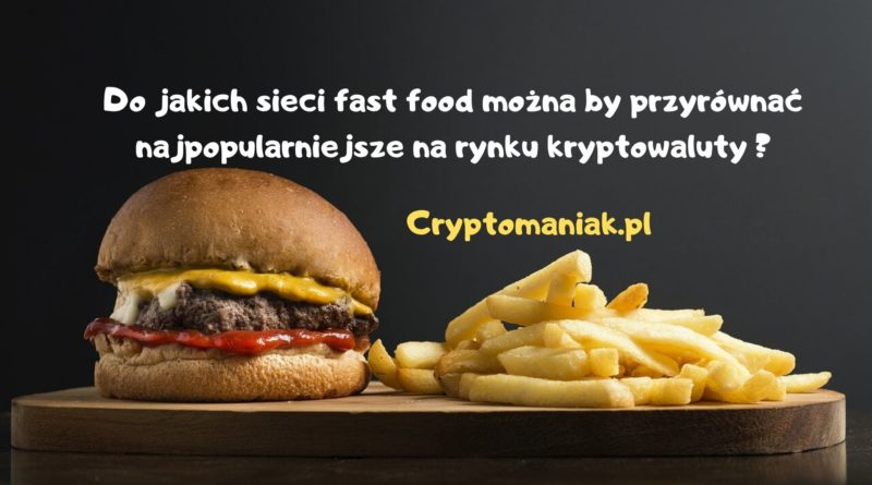 Bitcoin jest jak McDonald, ETH to Burger King a IOTA jest jak Schnitzel