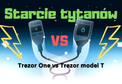 Trezor One vs Trezor T
