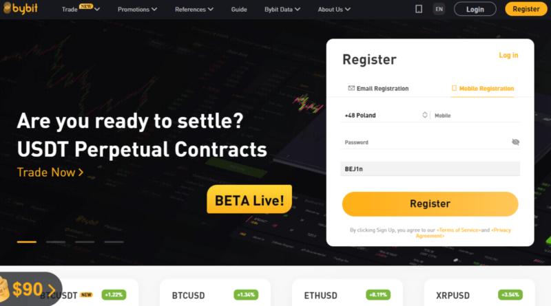 Bybit – instrukcja obsługi giełdy Bitcoin z dźwignią